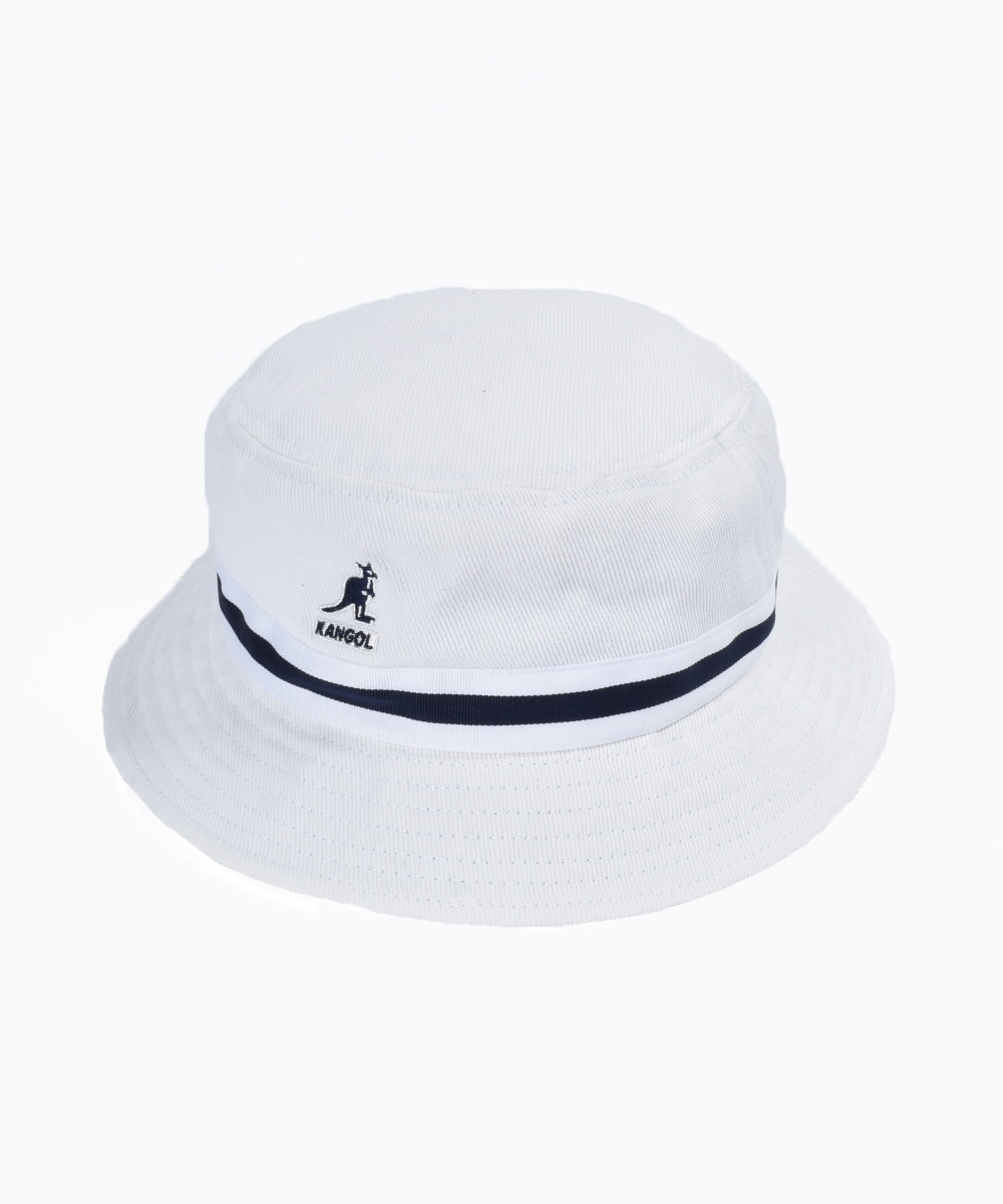 Beige  KANGOL  Stripe LaHinch  Bucket Hat  Style  K4012SP